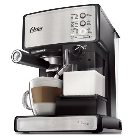 Oster® Prima Latte? 15 Bar Pump Espresso, Cappuccino & Latte Machine, Stainless Steel