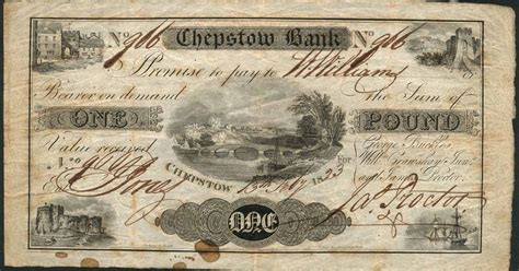 Bank Letter Cardiff Bank Notes Issued In 19th Century Sell At Auction For 163 65 000 Wales