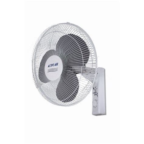 wall mount fan amazon hydrofarm acf16 16 inch active air wall mount fan for