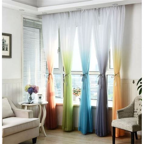luxury sheer curtains luxury ombre sheer curtains