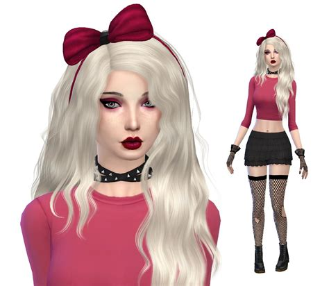 cc hair sims 4 sims community the sims 4 cas cc lookbook 10
