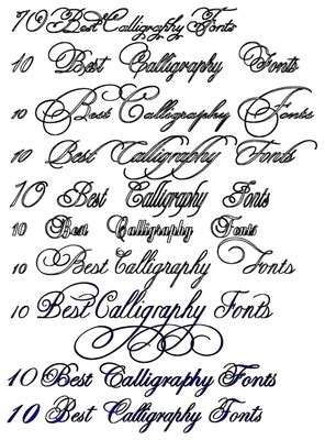 tattoo font mac 10 best calligraphy fonts collection download now