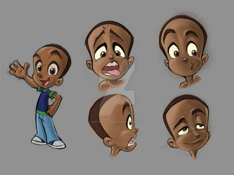 design photo cartoon character design sheet for a cartoon ish style ad by