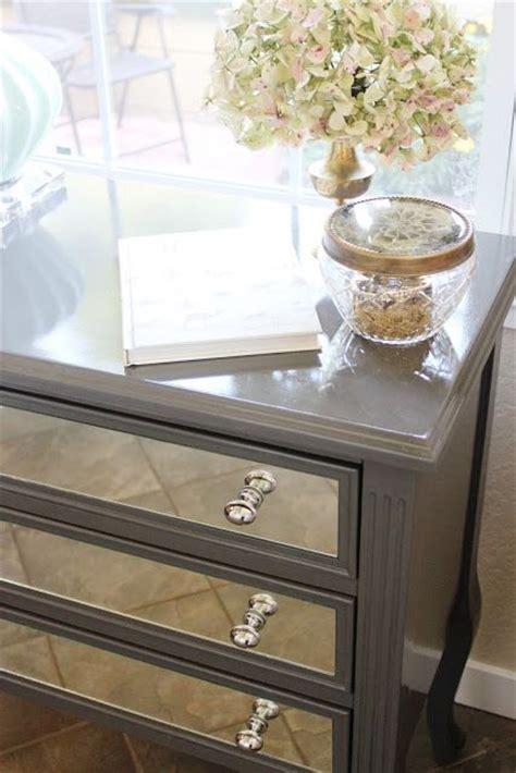 Diy Mirrored Dresser by Diy Mirrored Nightstand Furniture