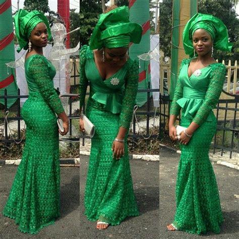 trendy nigerian styles look glamorous in trendy aso ebi styles fabulously chic