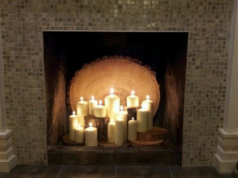 candles in fireplace candles in the fireplace home ideas