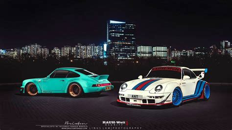 rwb wallpaper photo of the day double rwb porsche 911 in hong kong