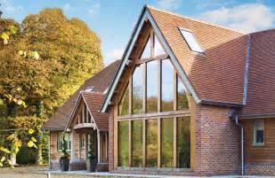Cottage Style Vanity New Build Barn In Oak Self Build Co Uk