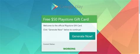 Get Free Play Store Gift Card - free play store voucher gift card get it right away with my generator nobshack com