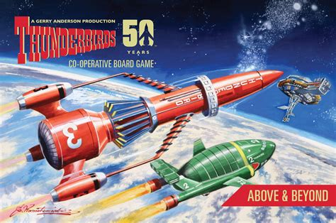 8 Fab 2 In 1 Shoos by Thunderbirds Above Beyond Expansion 2 Modiphius