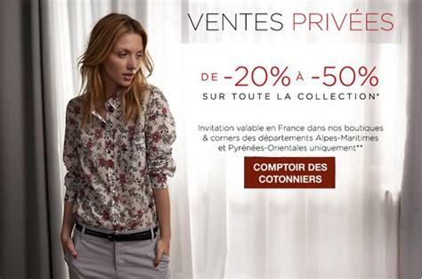 Ventes Privees Comptoir Des Cotonniers by Vente Priv 233 E Comptoir Des Cotonniers Pr 233 Soldes 233 T 233 2014