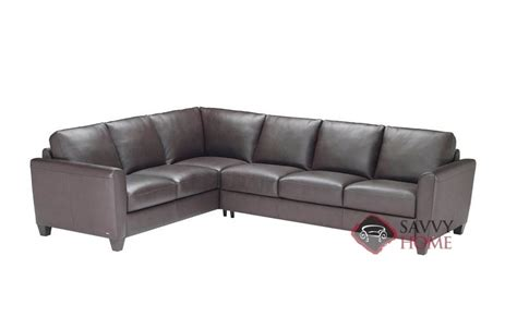 natuzzi sleeper sofa b592 liro b592 leather true sectional by natuzzi is fully