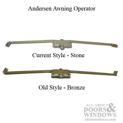 awning window operator replacement andersen awning operator a4 7082 long arm stone
