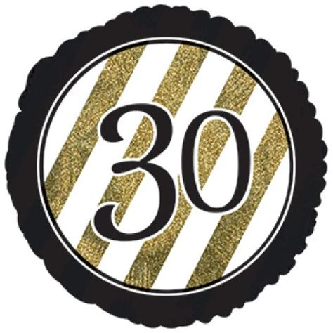 30 Black & Gold Glitter (318102HP) Round P1