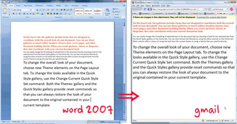 html tutorial docx convert docx and other office 2007 files to html with gmail