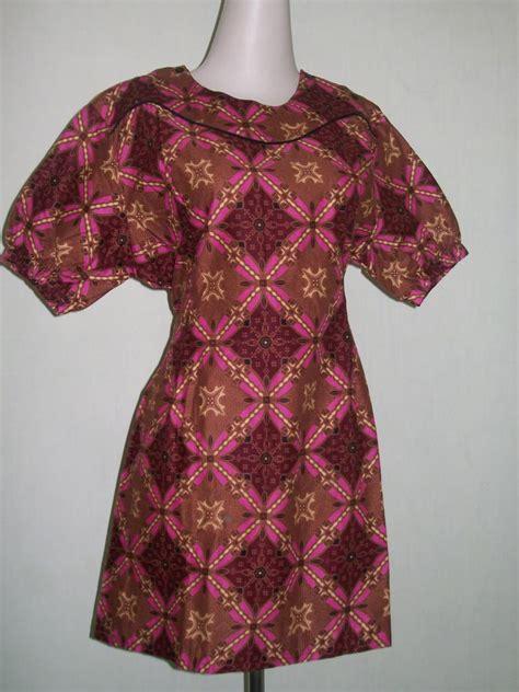 Mukena Wanita 015 blus batik wanita lengan pendek ada tali dan karet di