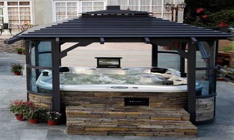 Diy Inexpensive Home Decor by Pergola Enclosure Ideas Around My Tub Privacy Outdoor