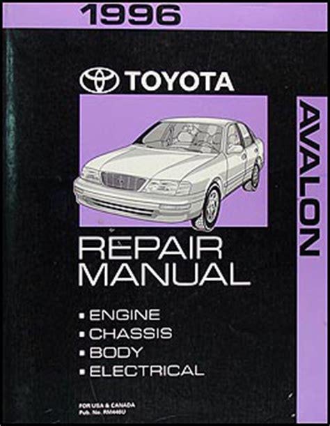 1996 Toyota Avalon Manual 1996 Toyota Avalon Wiring Diagram Manual Original