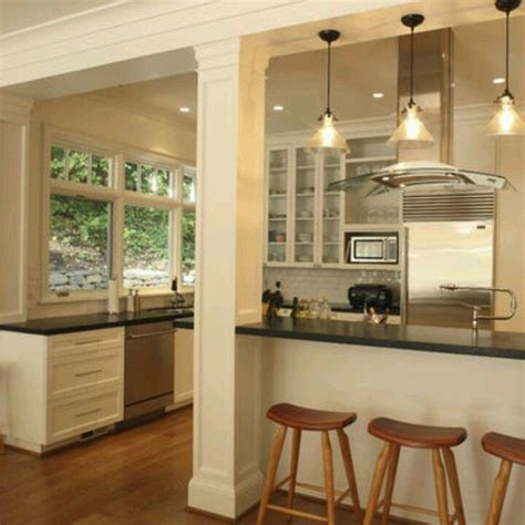 kitchen island columns kitchen remodel ideas house interior design pinterest