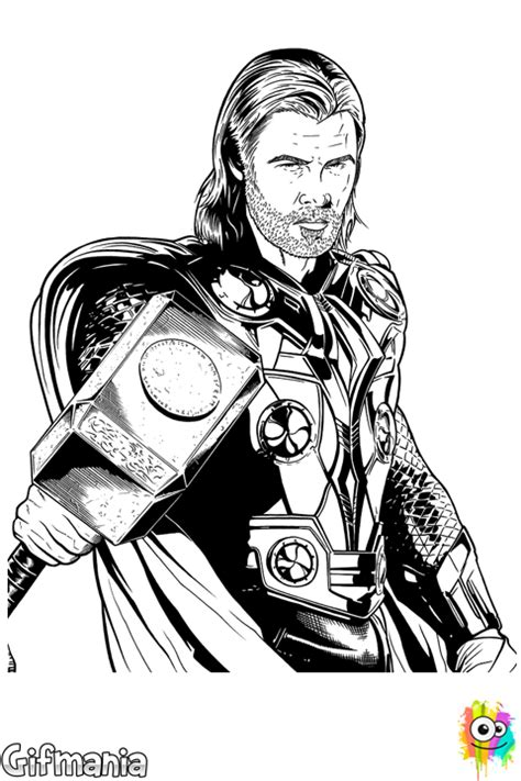dark avengers coloring pages thor the dark world coloring page