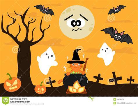imagenes halloween bebes fondo de halloween de la historieta para los ni 241 os