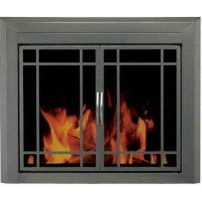 fireplace screen mission style fireplaces