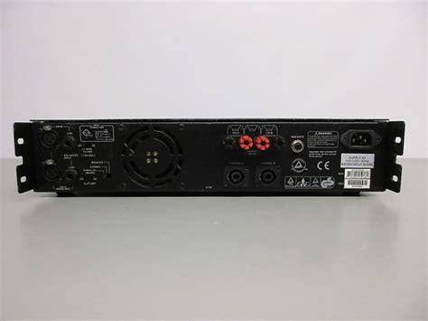 Power Lifier Alto alto macro 2400 power lifier reverb
