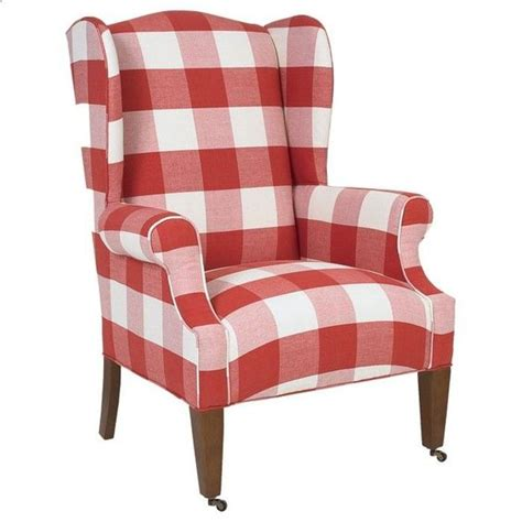 red check armchair buffalo check chairs found on home 2 me com my