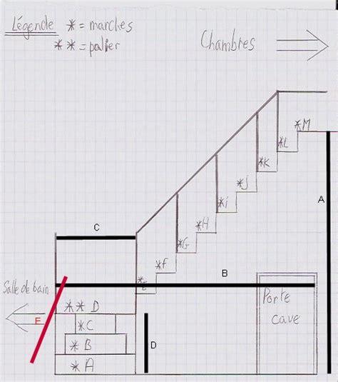 Comment Construire Un Escalier En B Ton 3795 by Recherche Plan D Escalier 1 4 Tournant Forum Menuiseries