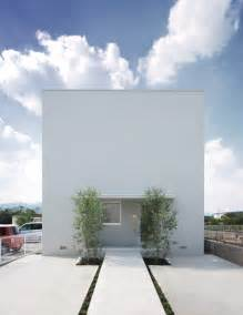 Modern house design white cube house minimalist architecture house