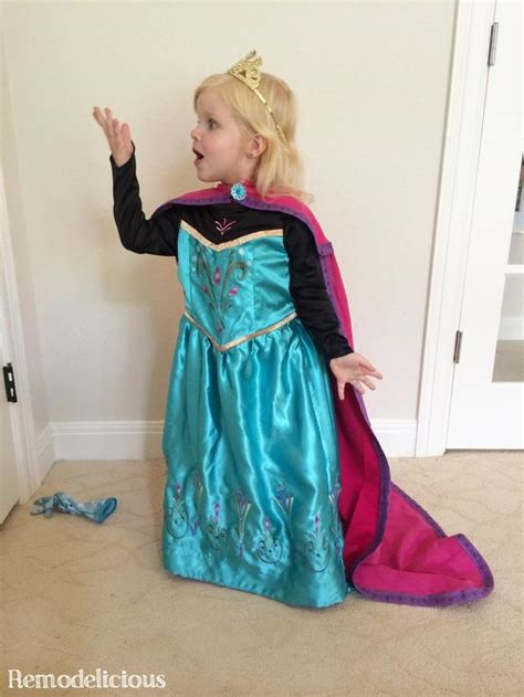 Handmade Elsa Costume - 5 diy elsa costume from an upcycled t shirt
