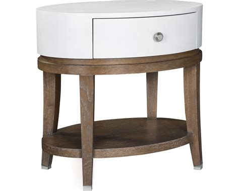 oval bedroom furniture anthony baratta luciana oval bedside table nightstands
