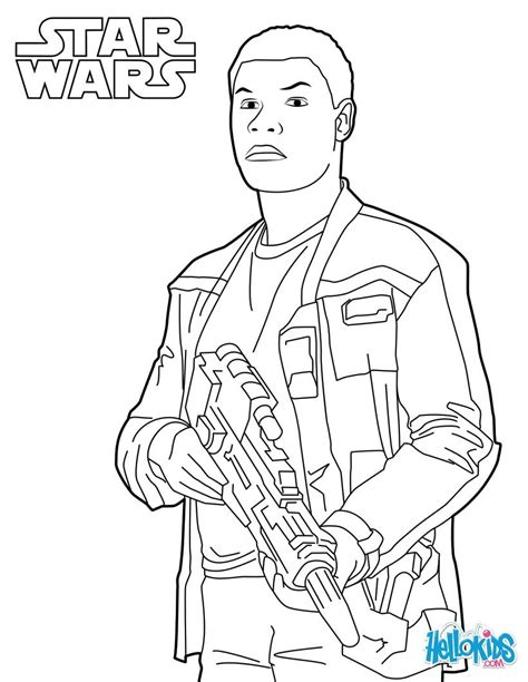 Coloring Pages Of Star Wars Finn Star Wars Coloring Page Wars 7 Coloring Pages