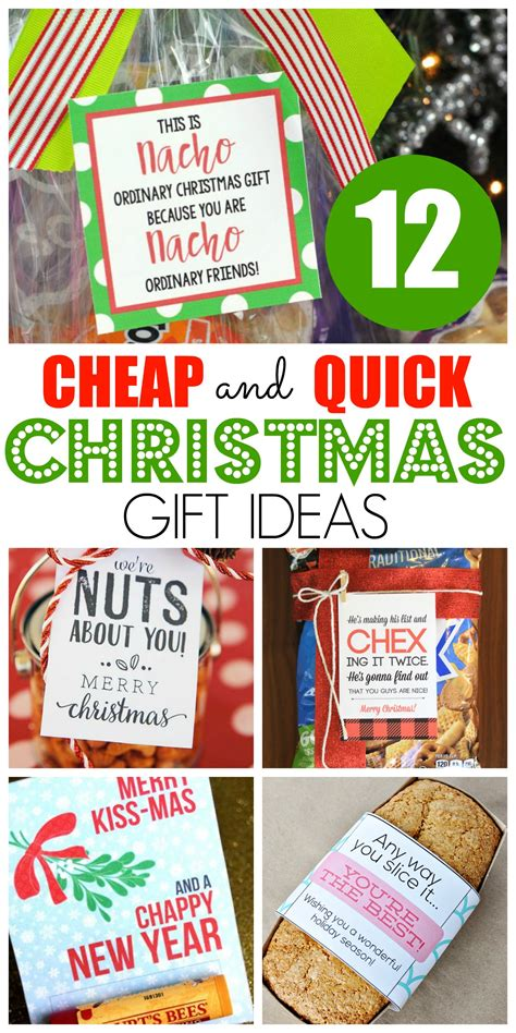 12 cheap and quick christmas gift ideas happy home fairy