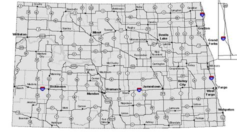 nddot road report map the knownledge