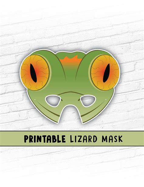 Free Printable Lizard Mask