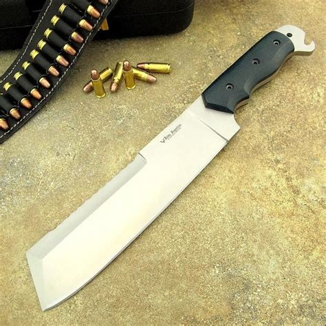Handmade Survival Knives - s custom handmade d2 tool steel knife machete