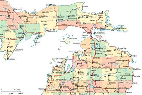 Nmu Search Regional Map Of Northern Michigan