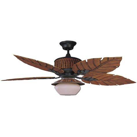 rustic outdoor ceiling fans concord fans 52 quot fern leaf breeze rustic iron outdoor