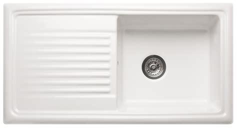 ceramic kitchen sink with drainer reginox ceramic sink with drainer single bowl