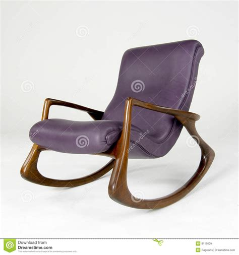 purple rocking chair cushions purple leather rocking chair editorial stock image image