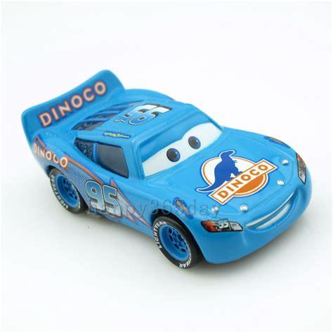 ebay ie disney pixar 1 55 cars no 95 blue dinoco lightning mcqueen