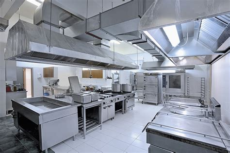 commercial kitchen design standards professional kitchen exhaust cleaning bare metal standard