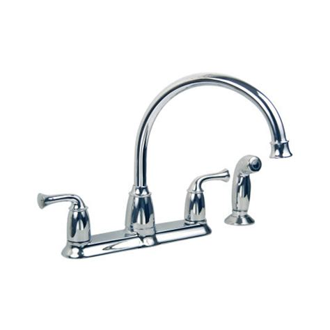 moen kitchen sink sprayer moen 87553 banbury high arc kitchen sink faucet with side