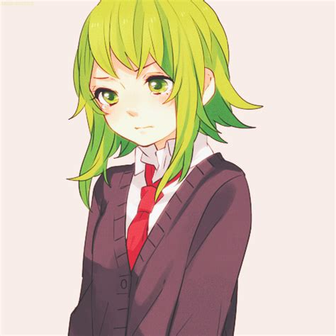 gumi from vocaloid megpoid gumi on