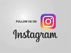 Follow Us On Instagram PPT Backgrounds   Black, Grey