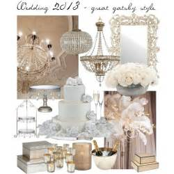 Great Gatsby Home Decor by Wedding 2013 Great Gatsby Style Decoration Polyvore