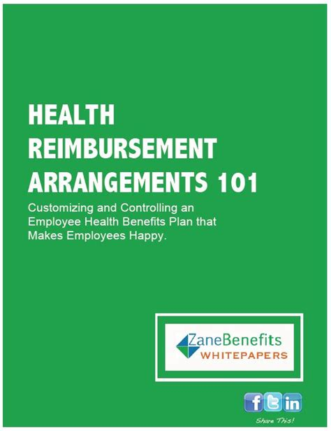 section 105 hra employee health benefits whitepapers zane benefits