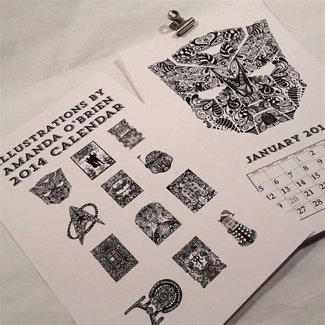 doodle calendar 2014 doodle calendar traveling through time the