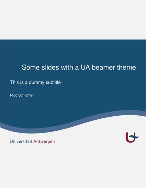 beamer template for powerpoint beamer presentation template template for